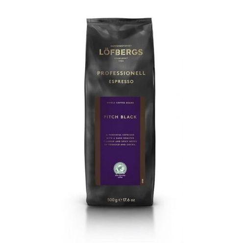 Lofbergs - Pitch Black Professional Espresso - kawa ziarnista - 500g