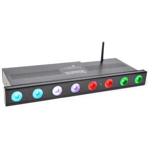 BeamZ Professional Wi-Bar listwa LED 8 x 3W trójkolorowe LED DMX bezprzewodowa