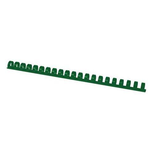Office products Grzbiety do bindowania , a4, 14mm (125 kartek), 100 szt., zielone (5901503684146)