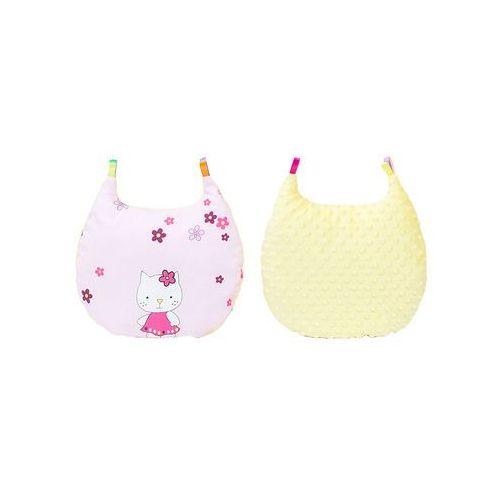 podusia milusia kotki różowe / żółty marki Mamo-tato