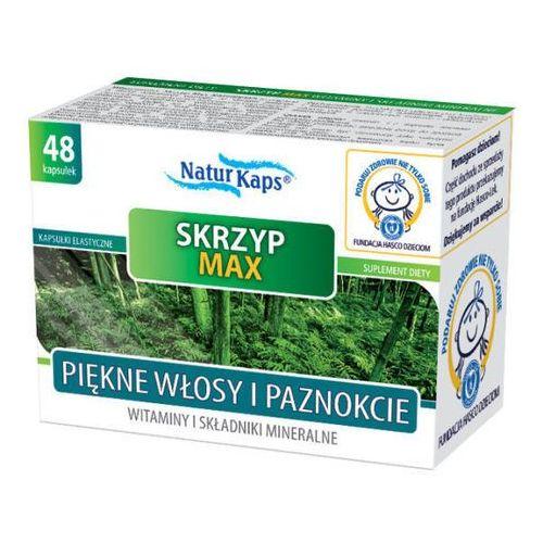 Kapsułki SKRZYP MAX Witaminy i minerały Naturkaps x 48 kapsułek