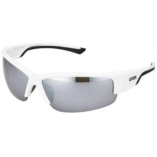 Uvex sportstyle 215 okulary rowerowe biały one size okulary