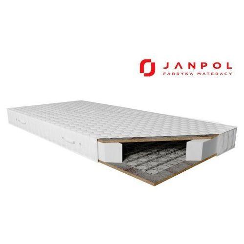 Janpol kronos – materac bonellowy, rozmiar - 80x200, twardość - twardy, pokrowiec - żakardowy wyprzedaż, wysyłka gratis, 603-671-572