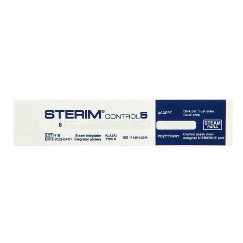 Testy kontroli sterylizacji SterimControl 5 kl.V