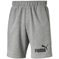 "Szorty Puma ESS No.1 Sweat Shorts 9"" 83826103, kolor szary"