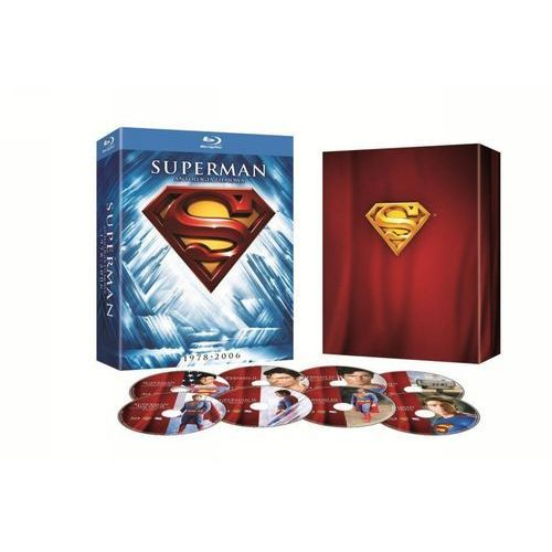 Superman: Antologia filmowa (8Blu-Ray) - Galapagos DARMOWA DOSTAWA KIOSK RUCHU (7321999304553)