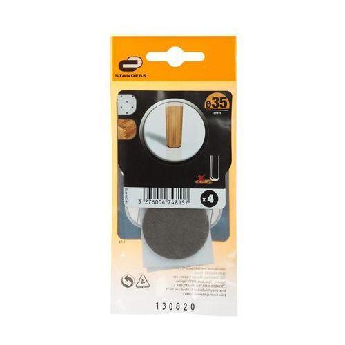 Podkładki ficowe samoprzylepne 35 mm marki Standers