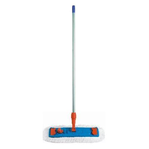 Clean Mop bawełniany płaski 50 cm speedy - komplet (uchwyt,mop,kij) mop do mycia i dezynfekcji