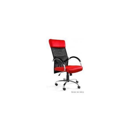 Krzesło biurowe Overcross czerwone, kolor czerwony
