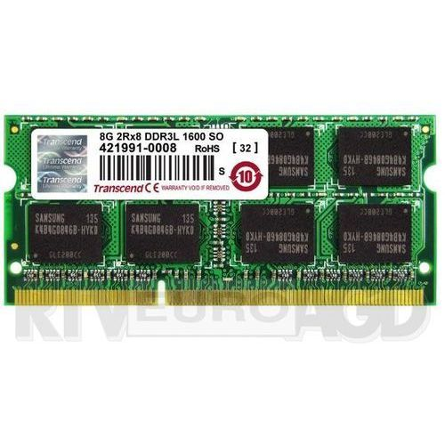 Transcend JetMemory DDR3L 8GB 1600 CL11 SO-DIMM, TS8GJMA384H