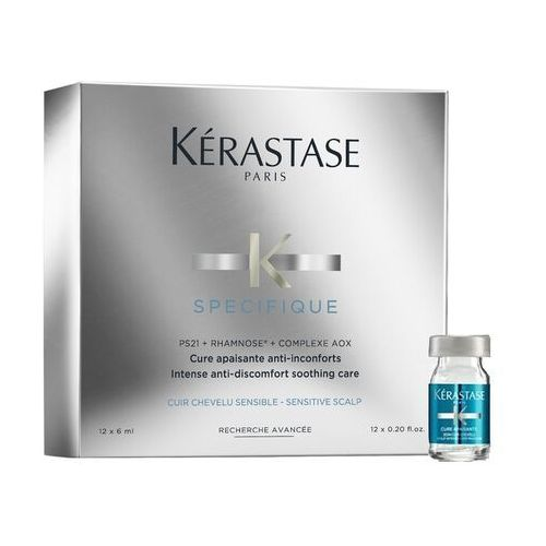 OKAZJA - Kerastase Specifique Intense Anti-Discomfort Soothing Care | Kuracja łagodząca podrażnienia skóry głowy 12x6ml, K93-E1924500