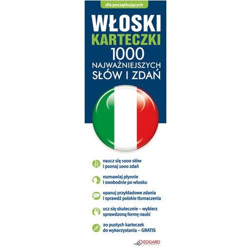Włoski. Fiszki. 1000 Najważniejszych Słów I Zdań, praca zbiorowa