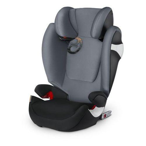 CYBEX fotelik samochodowy Solution M-fix 2018, Pepper Black (4058511217741)