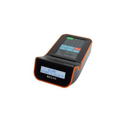 ELZAB K10+ 3K, K10000000316 z możliwością rozszerzenia o moduł komunikacyjny, biało-pomarańczowa