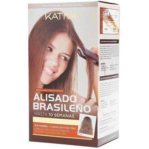 OKAZJA - Kativa keratynowe prostowania włosów, zestaw do prostowanie w domu (7750075040243)