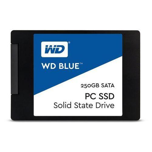 Western digital wds250g1b0a karta pamięci 2.5, 7 mm, 3g ssd, niebieska 250 gb