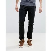 French connection stretch skinny chino - black