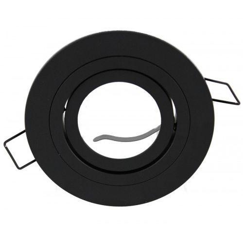 Oprawa halogenowa okrągła czarna ruchoma alu marki Ledart