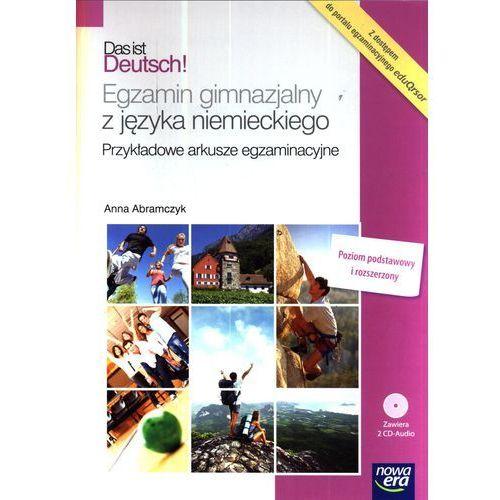 Das ist Deutsch Egzamin gimnazjalny z języka niemieckiego + 2 CD-Audio (opr. broszurowa)