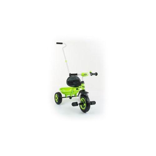 Rowerek 3kołowy turbo zielony