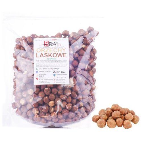 Orzechy laskowe łuskane 1kg – fosfor witamina e i b –  od producenta Brat.pl