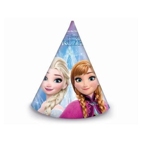 Czapeczki urodzinowe Frozen - Kraina Lodu - 6 szt.
