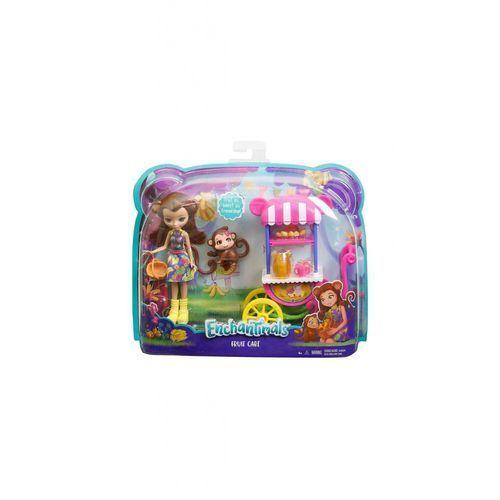 Mattel ENCHANTIMALS Lalka + Wózek z owocami (0887961450323)