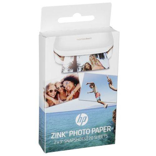 HP ZINK papier fotograficzny (5 x 7,6 cm, tylna strona papieru jest samoprzylepna), W4Z13A
