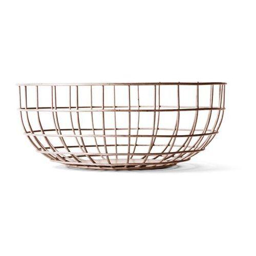 OKAZJA - Misa druciana Menu Wire Bowl nude