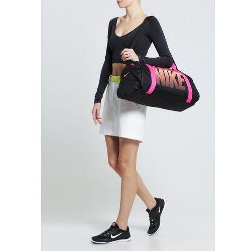 Nike Performance GYM CLUB Torba sportowa black/vivid pink/bright mango z kategorii Torby i walizki