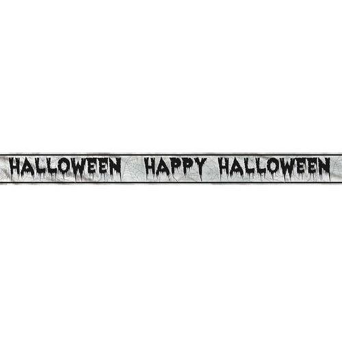 Baner happy halloween - 274 cm - 1 szt. marki Unique