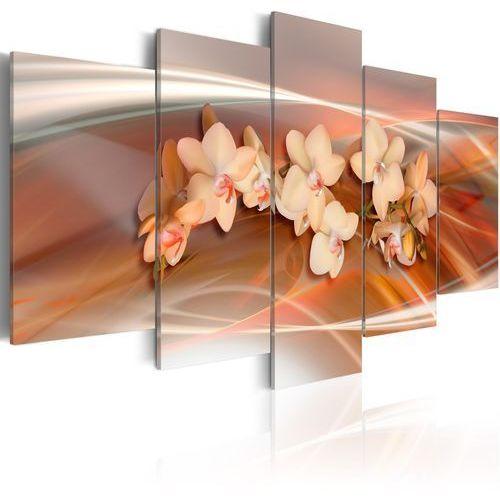 Artgeist Obraz - orchidea w ciepłych szarościach