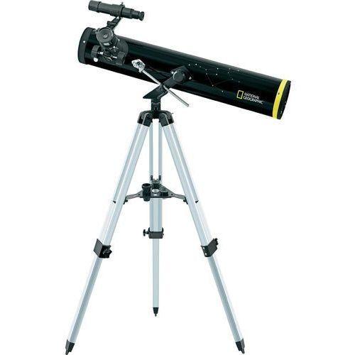 Teleskop , 76 / 700 mm, 3 okulary, 35 - 525 x, marki National geographic