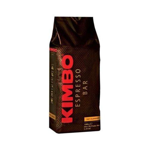 1kg espresso bar top flavour 100% arabika włoska kawa ziarnista import marki Kimbo