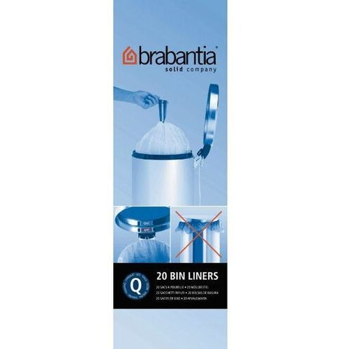 Worki na śmieci Brabantia Q 18l 20 szt. (8710755395826)