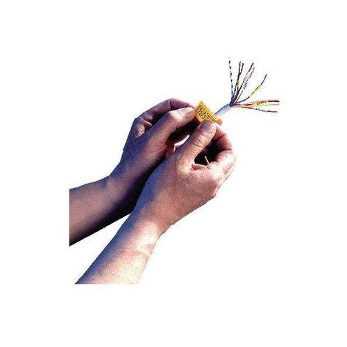 DYMO Taśma RHINO nylonowa elastyczna 19mm, żółty
