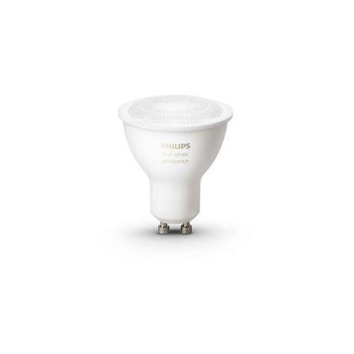 Żarówka LED PHILIPS 8718696598283 Hue Białe światło GU10 + DARMOWY TRANSPORT!