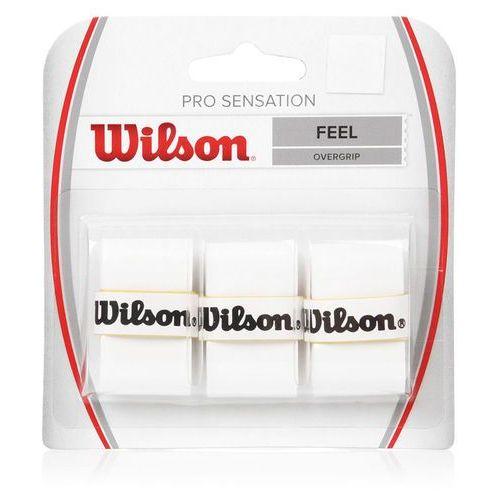 Wilson Owijka pro overgrip sensation 3 szt 4010 biała