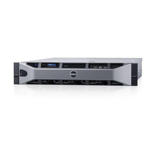 Serwer  r530 z cpu xeon 8c/8t e5-2609v4 + 8gb ddr4 nohdd + h330 raid5 z + klatka na 8xhdd 3,5 marki Dell