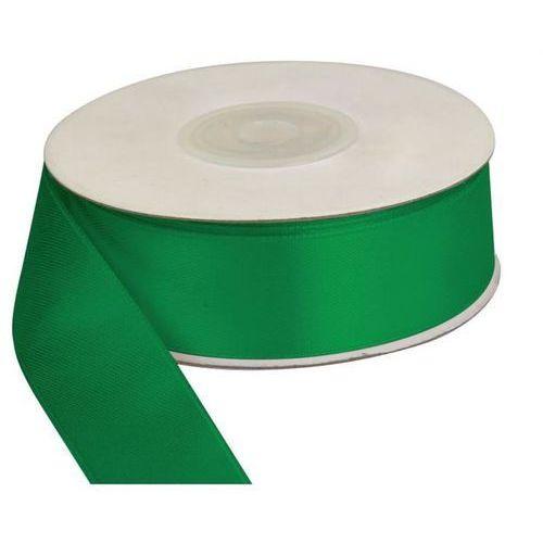 Wstążka zielona, 25m dł x 25mm szer, craft-fun - ciemno-zielony marki Titanum