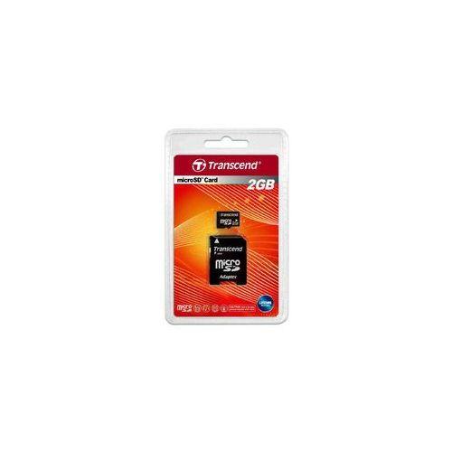Transcend microSD 2GB + adapter
