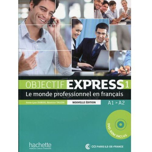 Objectif Express 1 podręcznik ucznia + CD-Rom (192 str.)