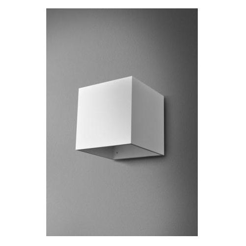 Kinkiet maxi cube biały żarówka led gratis! - szybka realizacja, 22411-0000-u8-ph-03 marki Aquaform