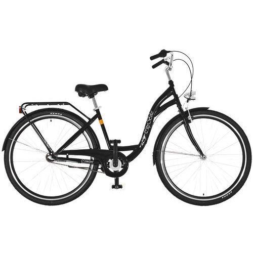 Rower DAWSTAR Citybike S3B Czarny Połysk + DARMOWY TRANSPORT! + Zamów z DOSTAWĄ JUTRO! + 5 lat gwarancji na ramę!