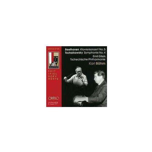 Beethoven L / Czajkowski P - Klavierkonzrt No 5 / Symphonie No 4