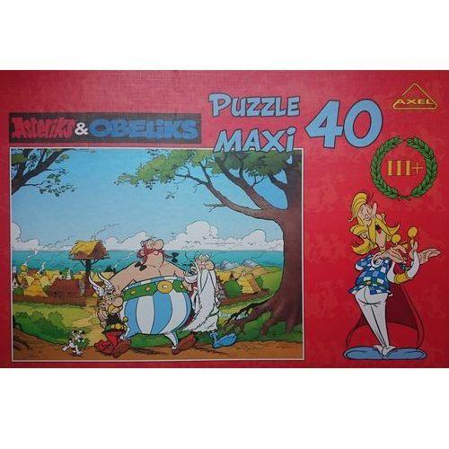 Axel Puzzle maxi 40 asteriks&obeliks trójka przyj.