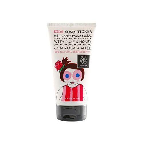 Apivita Kids Rose & Honey odżywki do włosów dla dzieci (Dermatologically Tested) 150 ml z kategorii Odżywianie włosów