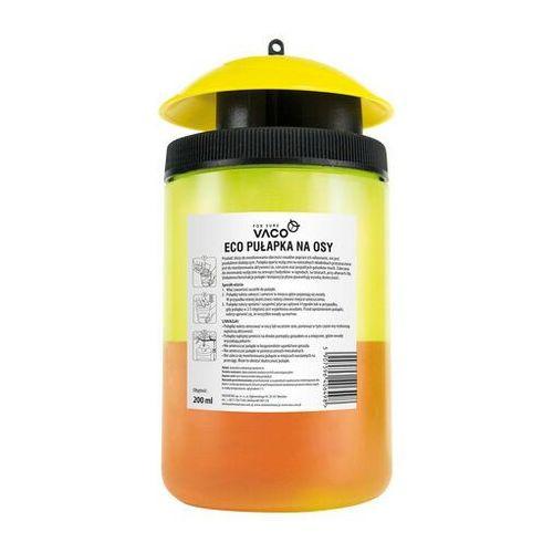 Vaco eco pułapka na osy i muszki owocówki + płyn 200 ml - darmowa dostawa od 95 zł!
