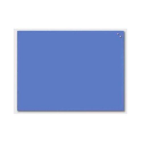 NAGA Szklana tablica magnetyczna niebieska 60x80 cm (10360), 10360