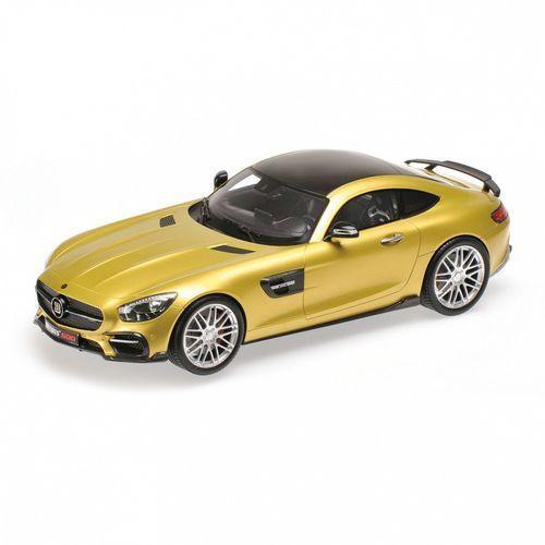 Brabus 600 Auf Basis Mercedes-Benz AMG GT S 2016 (gold) (4012138139930)